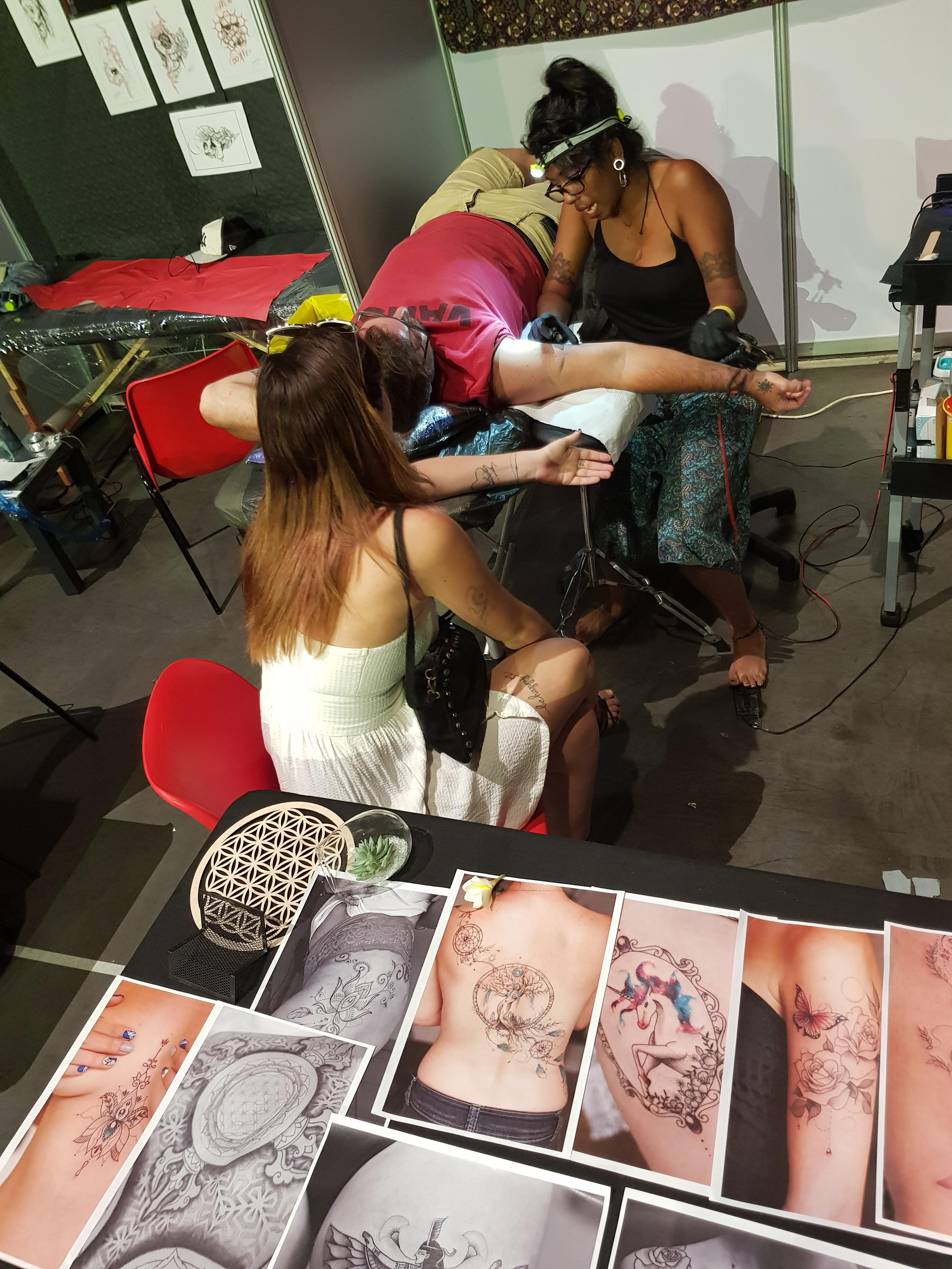 3ème convention Tattoo à la Cité des Arts en 2019