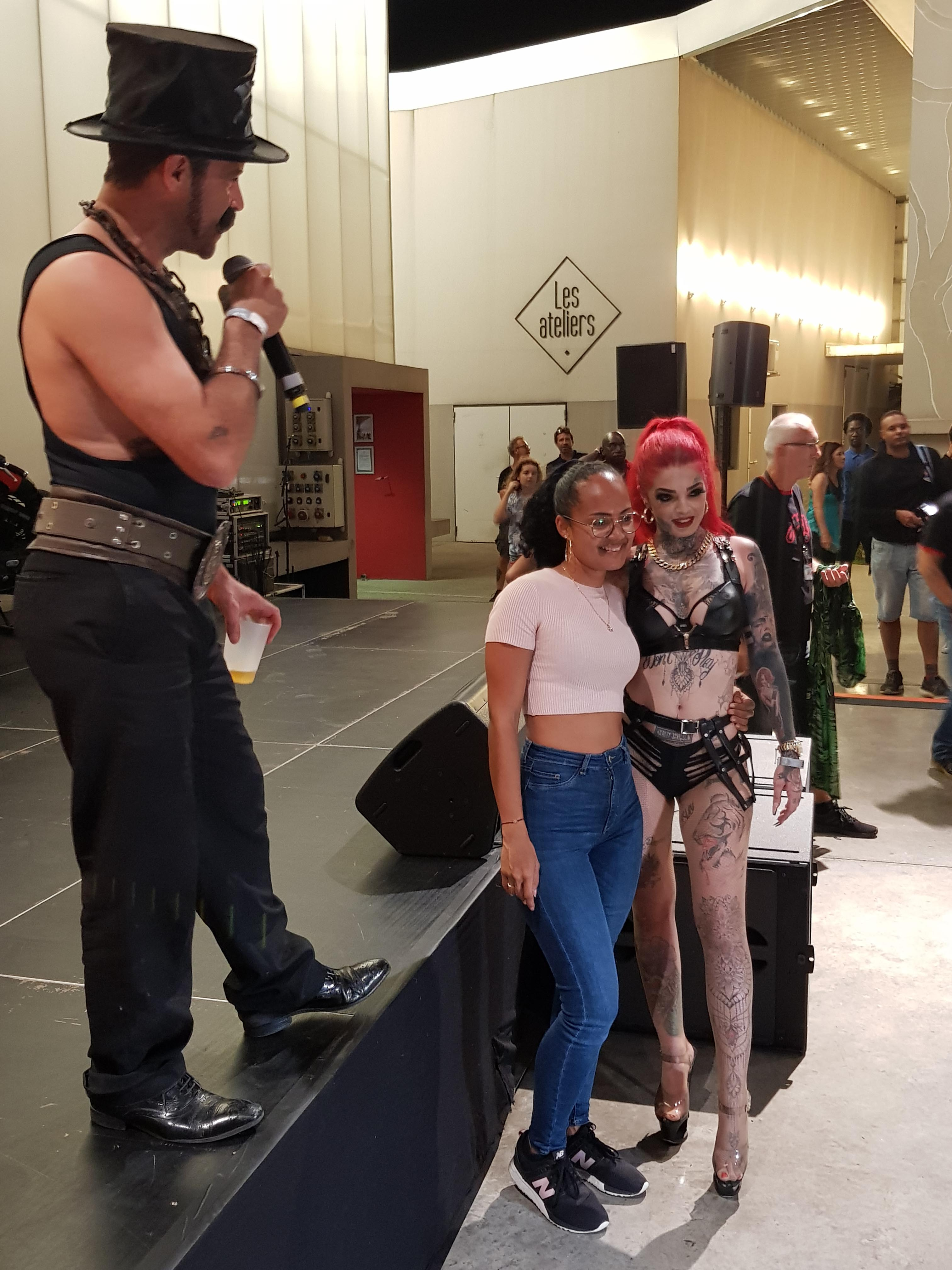 Mia Dolls à la Convention Tattoo 2019 de Saint-Denis